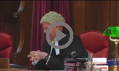 Secrecy trial video