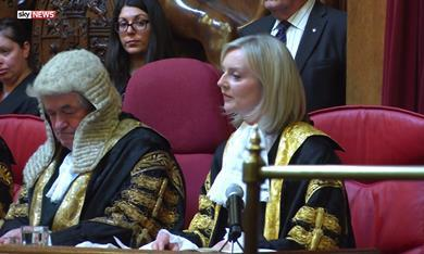 Liz Truss Ceremony