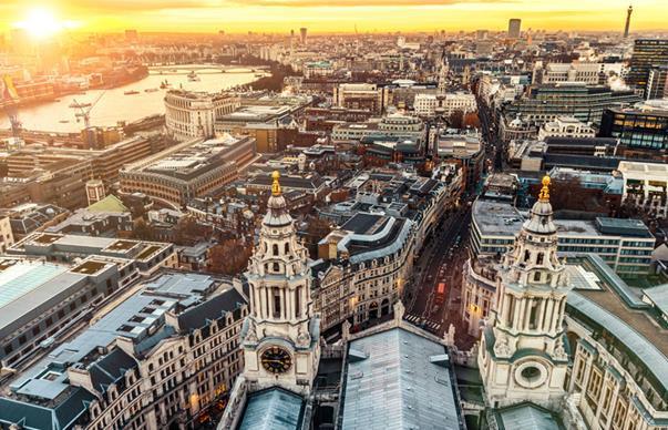 Cityof londonsun